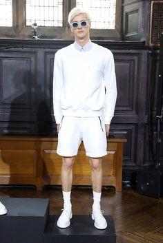 New York Fashion Week: Men's Trendsetters - MONOCHROMATIC WHITE: Timo Weiland Men's RTW Spring 2015