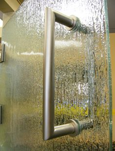 Shower Door Hardware- Mitered Hinge