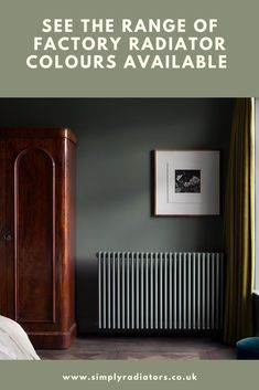 Column Radiators in colours direct from the factory.  There are hundreds of colours available as well as metal finishes such as nickle, copper and chrome. #radiators #columnradiators