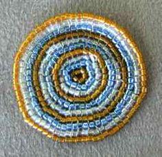 Delica Circular Flat Square Stitch