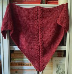 Easy Cranberry Shawl free pattern