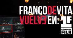 "Primer teaser de ""Franco de Vita Vuelve en Primera Fila"" [VIDEO]"