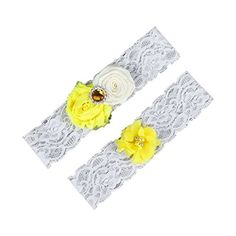 Dreamlan Womens Lace Garters Multi Colors with Crystal Yellow1 Dreamlan http://www.amazon.com/dp/B01AHZAGXI/ref=cm_sw_r_pi_dp_AtM1wb0Y8P4AA