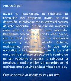 #UniversoDeAngeles Oración al ángel de la depresión para la felicidad.