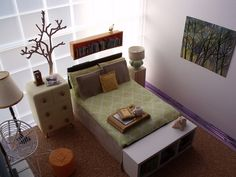 Nature inspired bedroom