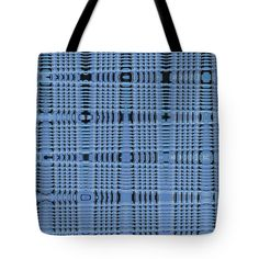 New Blue Building Tempe Town Lake Tote Bag featuring the digital art New Blue Building Tempe Town Lake by Tom Janca