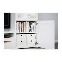 KUGGIS Box mit Deckel, weiß - IKEA