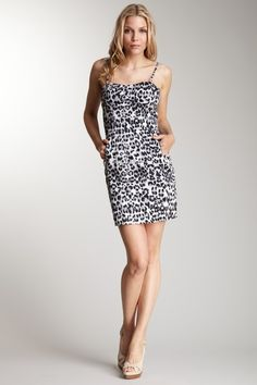 Romeo & Juliet Couture Animal Print Dress @HauteLook