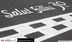 the circuit is dedicated Gilles Villeneuve one of Canada's greatest F1 drivers, who died in a crash at the Grand Prix in Belgium, 30 years ago