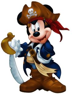 Disney Mickey Mouse Pirate personalized custom iron on Walt Disney, Disney Mickey Mouse, Mickey Mouse Kunst, Mickey Mouse And Friends, Disney Magic, Disney Art, Minnie Mouse, Mickey Mouse Cartoon, Disney Travel