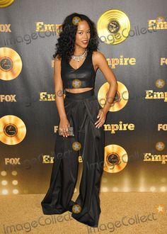 "empire tv show   Photo - Serayah McNeil at the premiere of Fox's new TV series ""Empire ..."