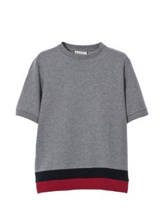 Marni Online Store - Men's and Women's Clothing T Shirt And Shorts, Sweater Shirt, Grey Fashion, Mens Fashion, Jean Délavé, Cuir Vintage, Oversized Shirt, Boys T Shirts, Men Looks