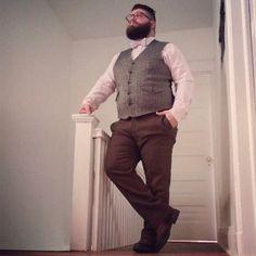 Large Men's Fashion   Famous Outfits