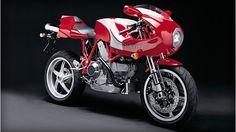 Το σήμα της Ducati μέσα στον χρόνο.
