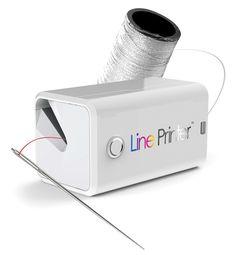 Custom Color Thread- how cool!!  Is yarn next???