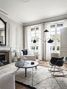 00 mile house 00 s house music 100 00 house 28 1900 House Interior Design. 1900 House Interior Design And A French Apartment In Black And White Interior, Dream Decor, Home, White Decor, Black And White Living Room, House Interior, White Interior, White Rooms, French Apartment