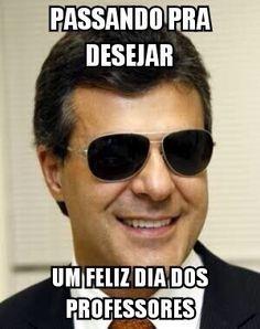 No Dia dos Professores, 'memes' de Beto Richa e Geraldo Alckmin bombam nas redes sociais