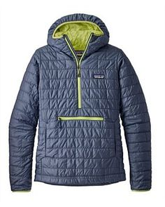 The updated Patagonia Women's Nano Puff® Bivy Pullover features PrimaLoft® Gold Insulation Eco for light, windproof, and warm protection from chilly bivies. Vest Jacket, Hooded Jacket, Patagonia Nano Puff, Patagonia Outdoor, Outdoor Woman, Outdoor Outfit, Jackets For Women, Winter Jackets, Pullover