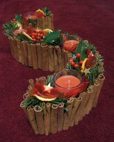 Vyrobte si adventní dekoraci za pár korun.