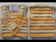 Knit Vest, Baby Cardigan, Knit Crochet, Crochet Baby, Leg Warmers, Baby Knitting, Diy And Crafts, Children, Youtube