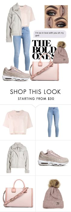 """Can't you blame my heart and not my heart"" by lucieprettypink ❤ liked on Polyvore featuring adidas, Victoria, Victoria Beckham and NIKE"