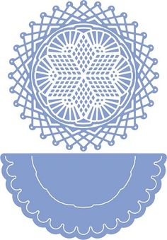 Cheery Lynn Designs - Rum Punch Doily With Angel Wing