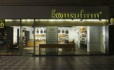 Komşufırın bakery by Autoban » Retail Design Blog