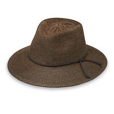 711bca219df98 Buy Wallaroo Hat Company Women s Victoria Fedora Sun Hat - UPF Modern  Style
