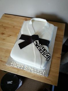Karate Cake- Black belt- Grandma Linda's Sweet Tooth Photos
