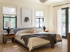 Best Bedroom Paint Colors, Spring Home Decor, White Walls, Master Bedroom, Modern, Painting, Furniture, England, Pacific Northwest