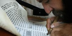The Museum of the Bible in Washington, DC will feature a live exhibit of the traditional writing of a sefer Torah (Torah scroll), performed by Eliezer Adam, a Jewish scribe. Bible Museum, Breaking Israel News, Messianic Judaism, New Bible, November 17, Jewish Art, Scribe, Torah, Exhibit