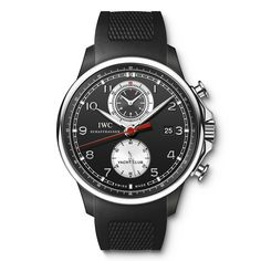 IWC Portuguese Yacht Club Chronograph Limited to 250 watches, available worldwide at IWC boutiques (See more at En/Fr/Es: http://watchmobile7.com/articles/iwc-portuguese-yacht-club-chronograph) (2/2) #watches #montres #relojes #iwc @Sarah Chintomby Chintomby Kozich World Watches