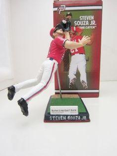 Steven Souza Jr The Catch Washington Nationals Potomac Minor League SGA Figurine #WashingtonNationals