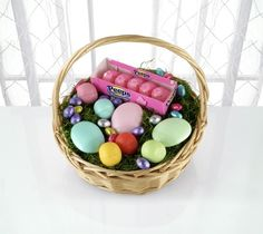 An eos Easter basket
