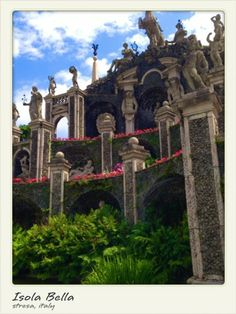 Explore and appreciate these gorgeous grounds Isola Bella Stresa, Italy