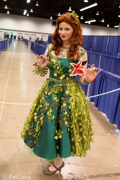Wondercon 2015 Pamela Isley (aka Poison Ivy) #PatLoika