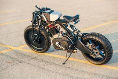 Buell 'Franken Blast' 500 - Industrial Look Custom motorcycles harley davidson cars bikes rockets Concept Motorcycles, Custom Motorcycles, Custom Bikes, Motorcycle Design, Motorcycle Bike, Bike Design, Offroader, Drift Trike, American Motorcycles
