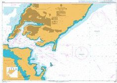 British Admiralty Nautical Chart 3044: Vladivostok