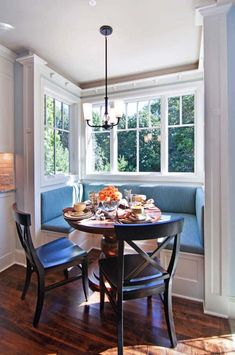 Breakfast Nook Kitchen Table Sets Unique Traditional Kitchen Popular Collection Of Kitchen Nook Table Kitchen Nook Table, Dining Nook, Corner Table, Small Breakfast Nooks, Perfect Breakfast, Cocina Office, Window Seat Kitchen, Window Seats, Window Table