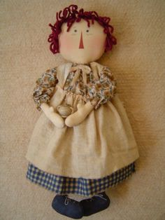 Sunflower Sue Raggedy Ann Doll ePattern Sale by Raggedyrhondas, $4.50