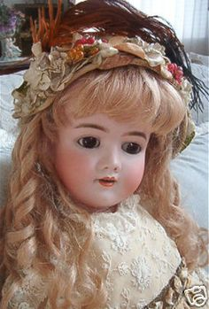 Heinrich Handwerck Simon & Halbig Antique Doll