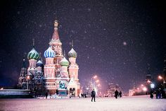 Moscow. Snow. by soleterranean, via Flickr