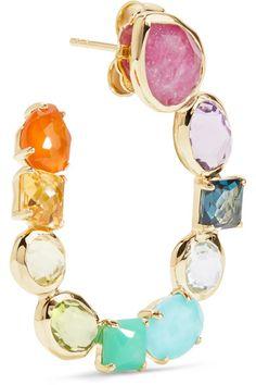 Ippolita - Rock Candy 18-karat Gold Multi-stone Earrings