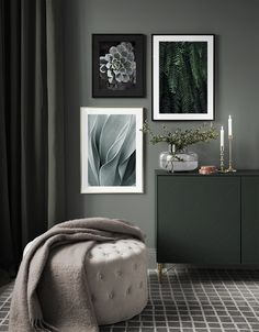 Gallery wall for the living room. Inspiration for the living room - Desenio Gallery wall for the living room. Inspiration for the living room - Desenio Bedroom Green, Home Bedroom, Bedroom Decor, Interior Design Inspiration, Home Interior Design, Room Inspiration, Living Room Designs, Living Room Decor, Casa Milano