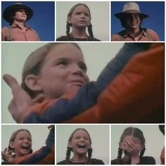 """Micheal Landon having fun with """"Laura"""". I love those two!!!"""
