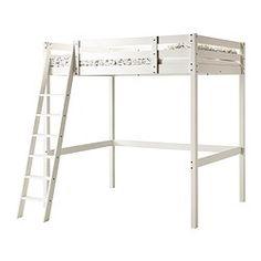STORÅ Estructura cama alta - tinte blanco - IKEA