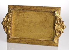 Vendome Vanity Tray Antiqued Gold
