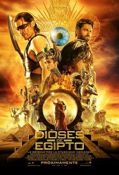 Dioses de Egipto. Estreno 22 de junio en Cinezona. CC Zona Este. Cines en Sevilla.