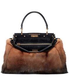 New Trend: The Fur Bag!  http://www.sheri.it/fur-bag-mania/  #sherì #fur #fashion #bag #handmade #madeinitaly