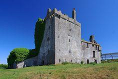Castles of Connacht: Deel, Mayo by Mike Searle - near to Ranns, Knockanillaun, Ardagh, Garrycloonagh and  Knockadangan Bridge, Mayo, Ireland